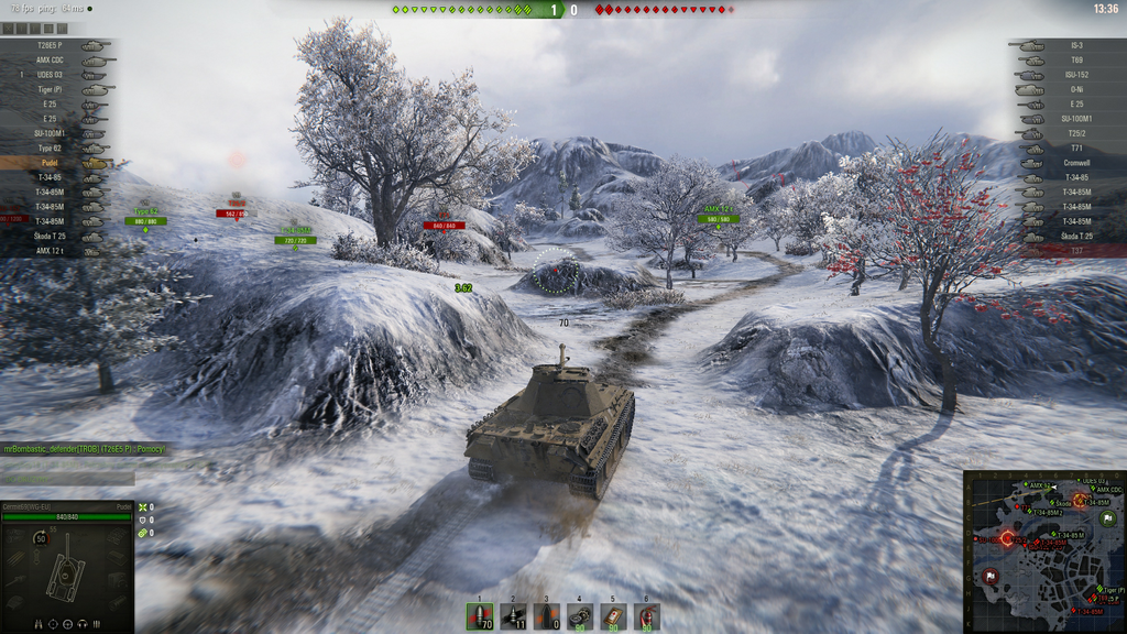 world of tanks screenshot winter